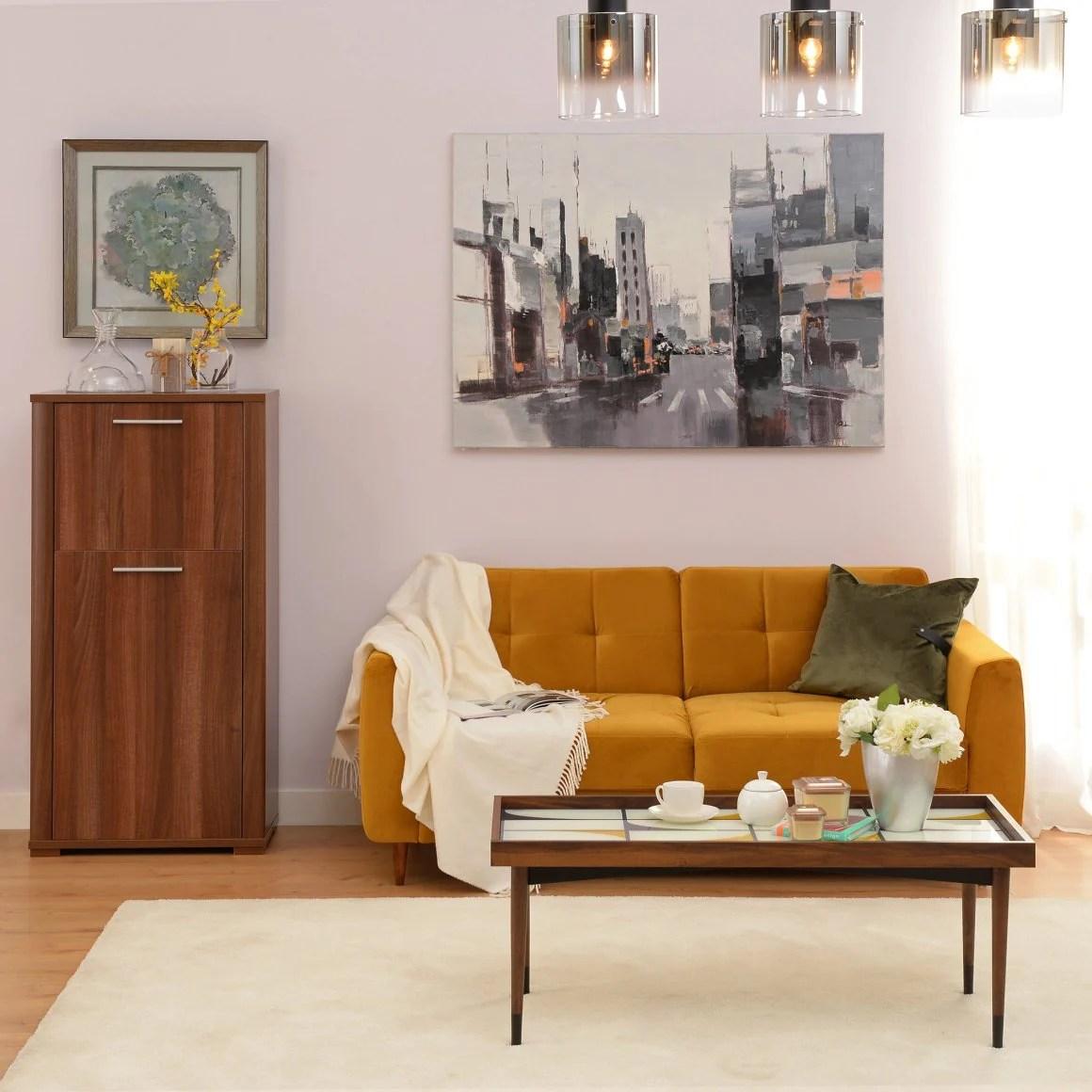 idei design apartament mic cu 2 camere
