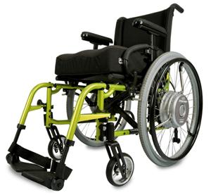 Quickie Xtender Propulsion Assist Wheels