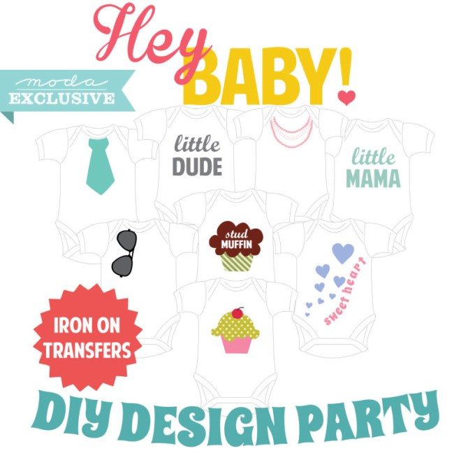 Moda DIY design partyTransfers