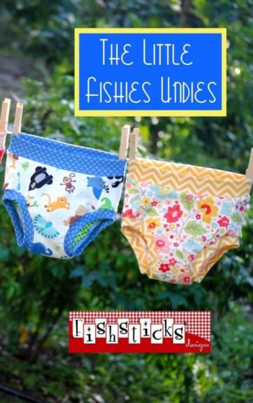 Fishsticks' Little Fishies Undies