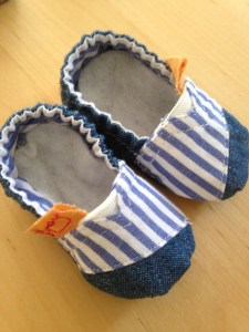 Brigitte Heitland baby shoes