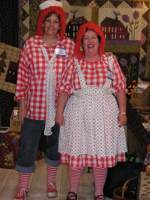 Raggedy Ann & Andy Oct 2010