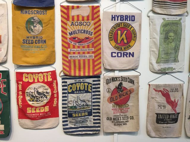 Sacks from the Minnesota State Fair