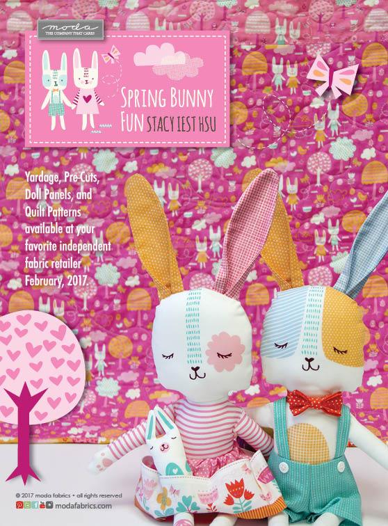 Spring Bunny Fun by Stacy Iest Hsu