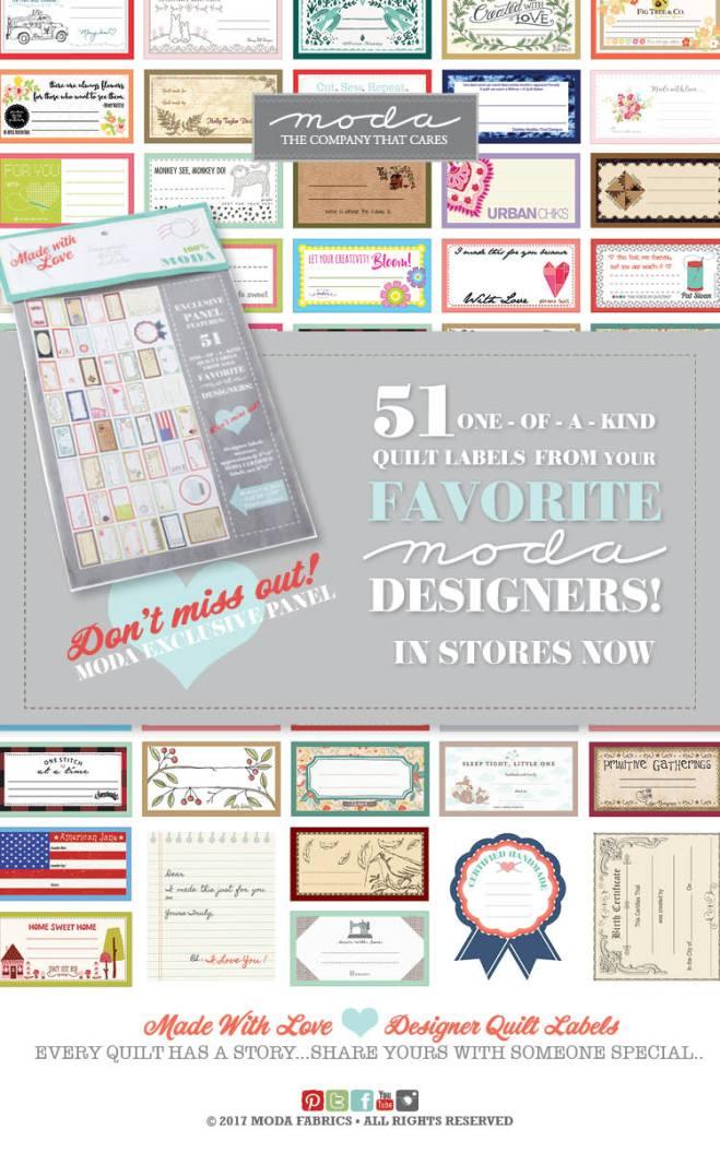 Designer Labels by Moda