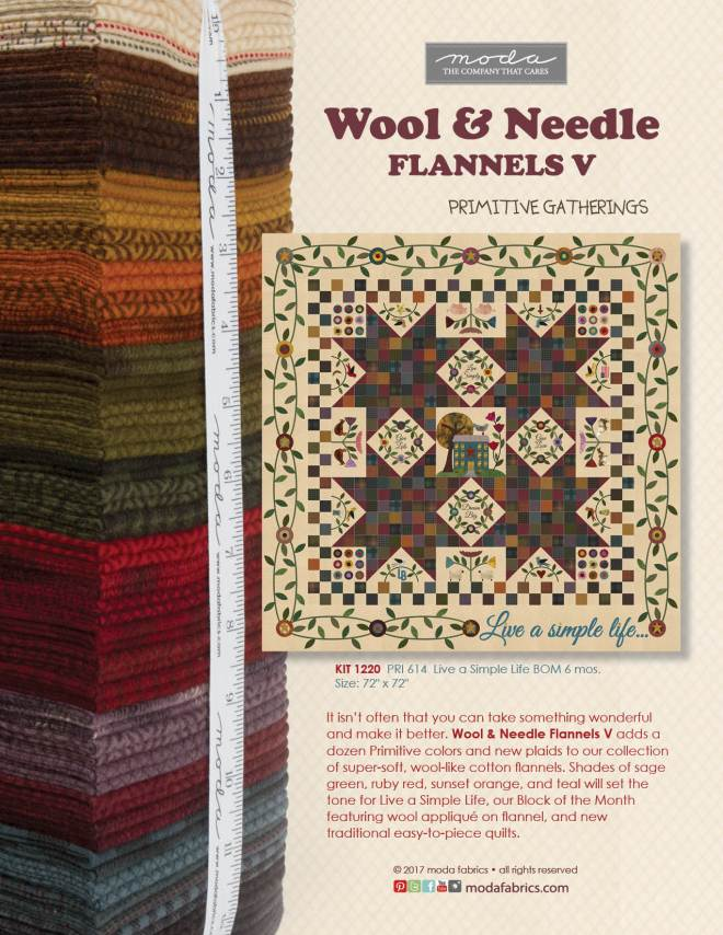 Wool & Needle V by Primitive Gatherings
