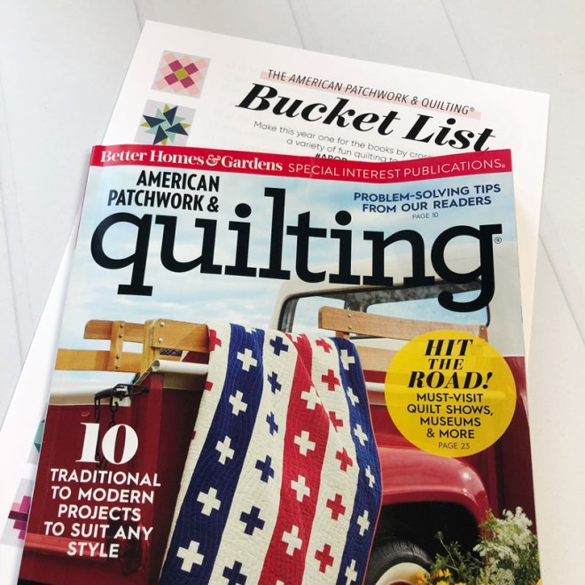 APQ Bucket List Update