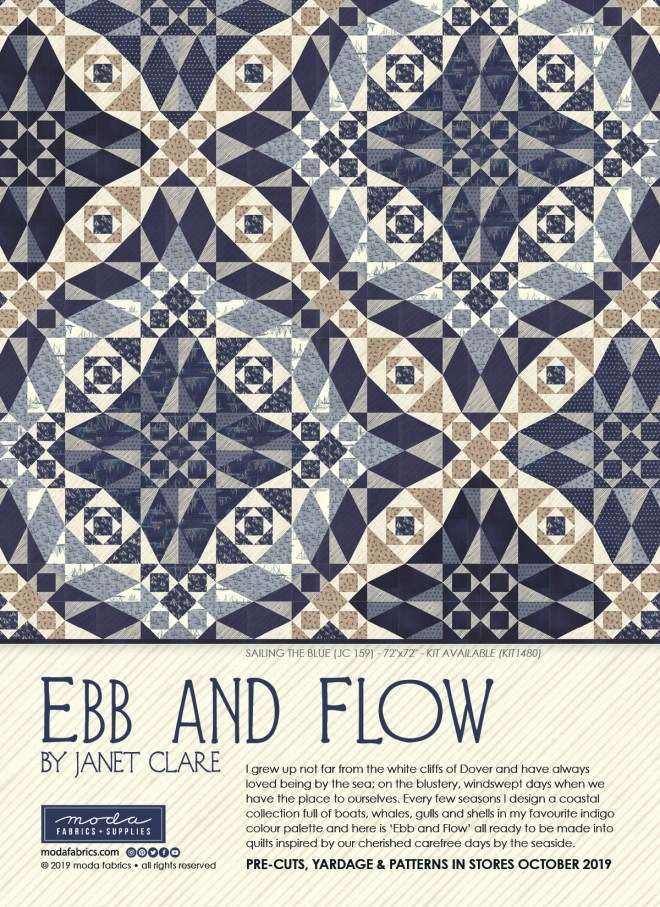 Ebb and Flow by Janet Clare