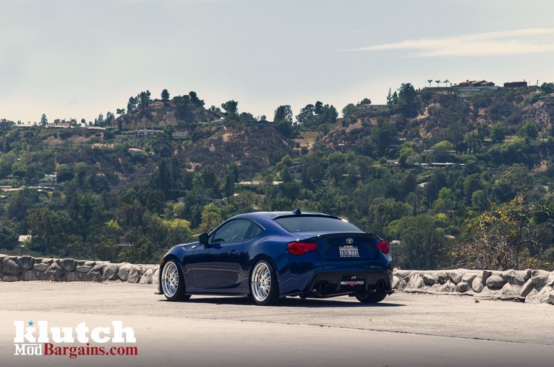 Klutch Wheels Blue Scion FR-S