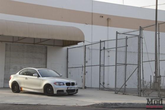 Silver BMW 135i