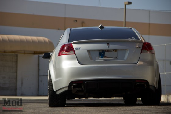 Silver Pontiac G8 Rear