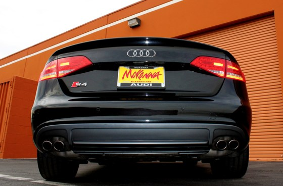 2012 Audi S4 Prestige Rear End View