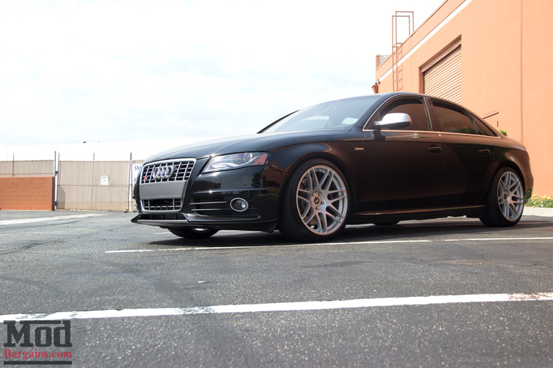 Audi S4 on Forgestar F14s in Silver