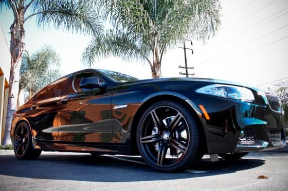 Black BMW F10 535i