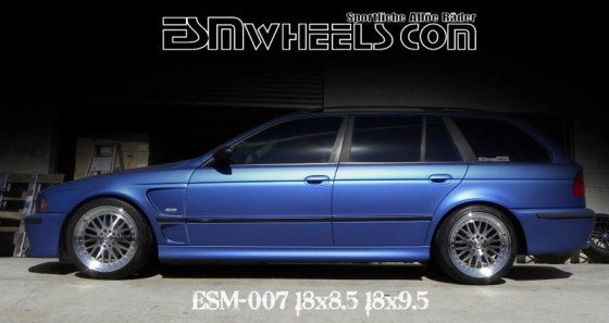 esm-wheels-on-e39-wagon