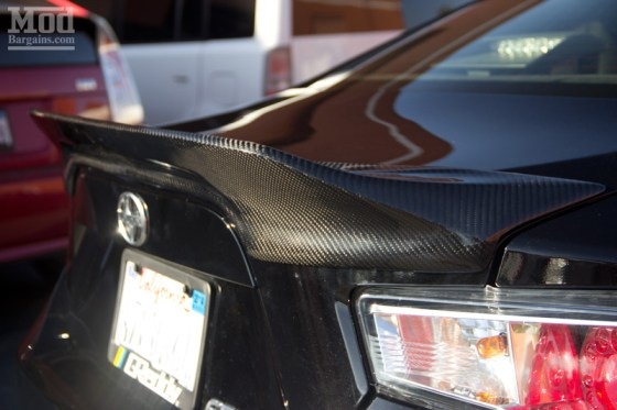 Scion FR-S Carbon Fiber Duck Bill Style Trunk Spoiler
