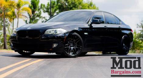 Luis F10 BMW 535i Looks Sounds MEAN With Remus Exhaust Black Forgestars