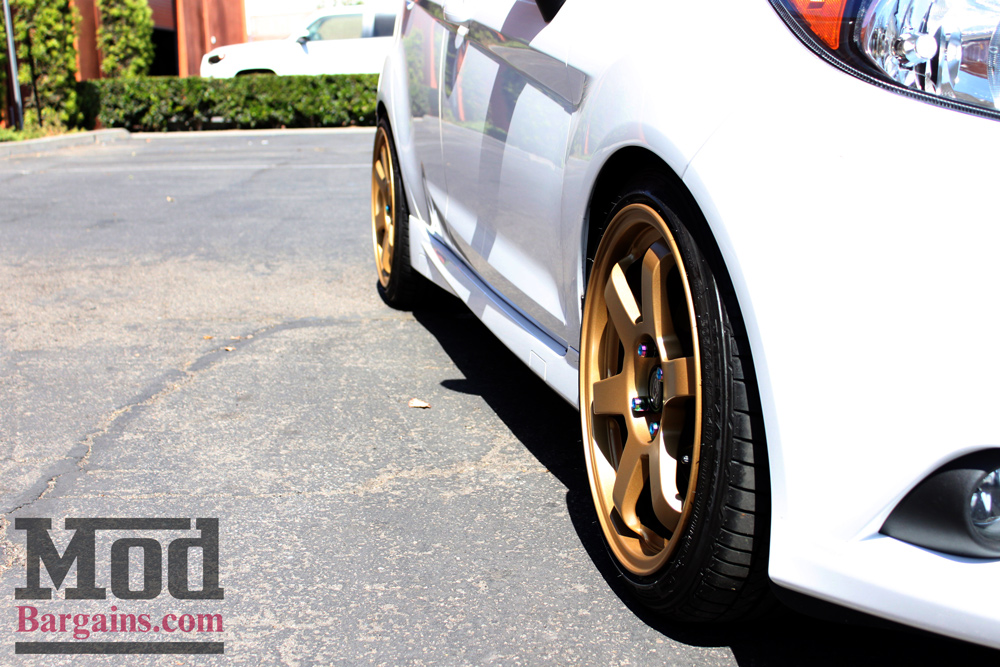 Gettin Low With A Ford Fiesta St On Vogtland Coilovers