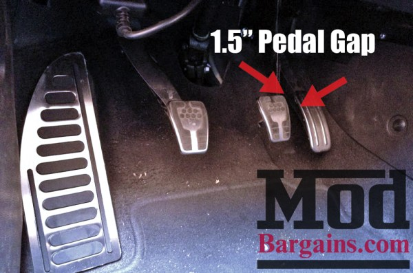 Fixing the Focus ST & Fiesta ST Pedal Gap with a Pedal Lift Spacer