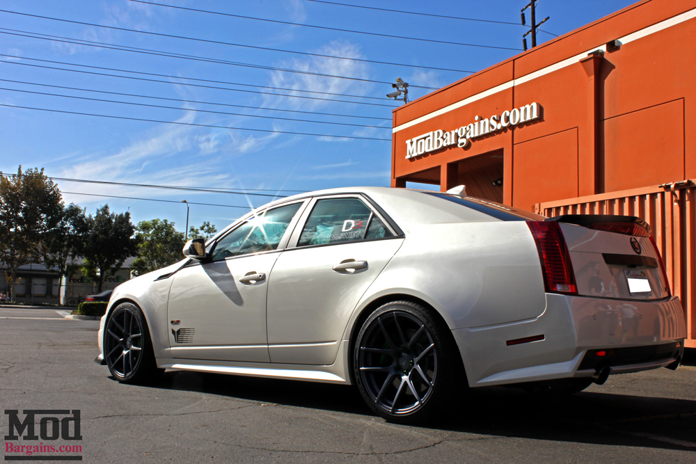 Cadillac Cts V Wagon For Sale >> Cadillac CTS-V on Eibach Springs with Mike's CTS-V
