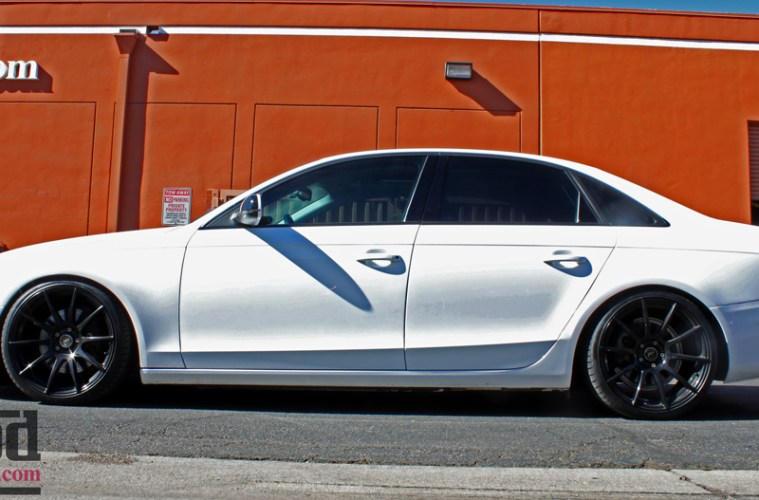 Hankook Ventus V12 Evo2 >> Livin Low: B8 Audi A4 ST Coilovers Installed with ...