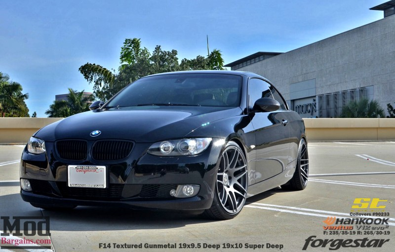 Black_BMW_E93_Forgestar-F14-19x9DC19x10SDC-hankook-st-coilovers-jeffkramer-alan-cust-img006