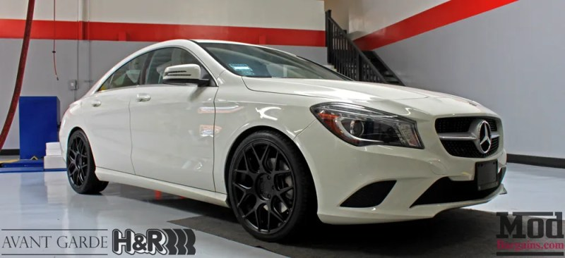 Mercedes_CLA250_HR_Springs_Avant_Garde_Black_Wheels_after_003