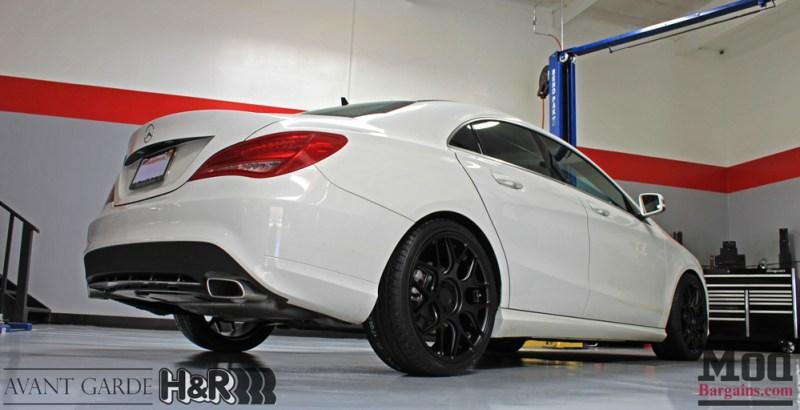 Mercedes_CLA250_HR_Springs_Avant_Garde_Black_Wheels_after_004