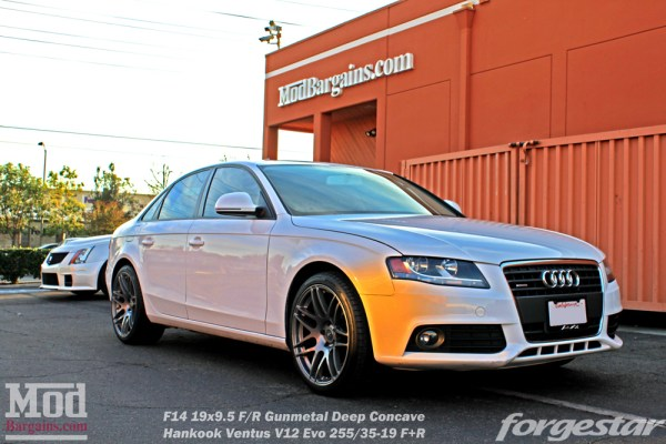 Quick Snap: Gary M's B8 Audi A4 on Forgestar F14s