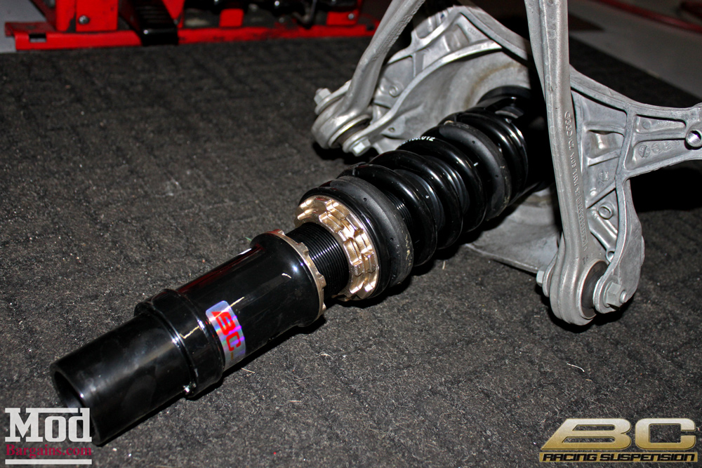 quick snap lowering a b8 audi a4 on bc coilovers. Black Bedroom Furniture Sets. Home Design Ideas