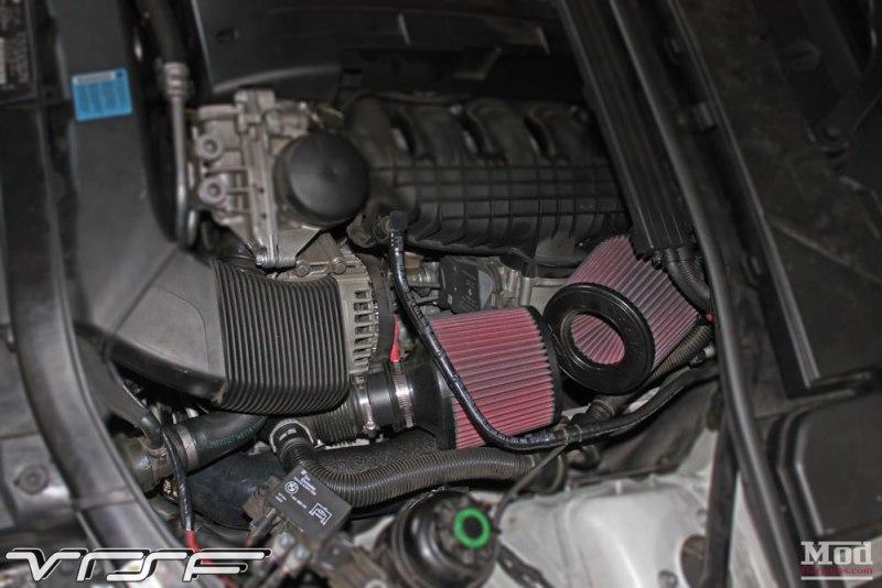 BMW E93 335is White VRSF FMIC Intake Chargepipe JB4 007