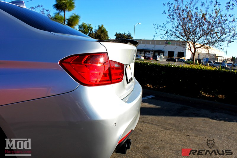 BMW_F30_328i_Forgestar_F14_Remus_Exhaust_Injen_N20_Intake_CF_Mirrors_CFSpoiler_IMG010