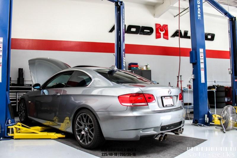 BMW_E92_328i_Solo-Werks_coilovers_M3_bumper_BRANDON_-1-2