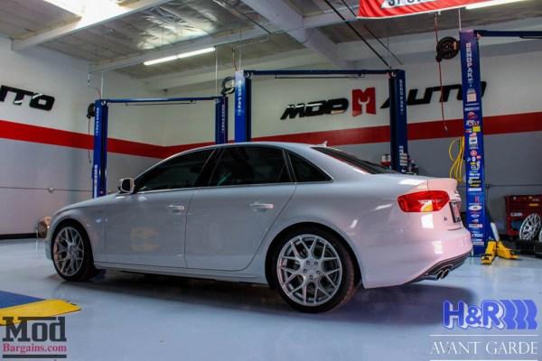 Quick Snap: Avant Garde M590 Wheels on Audi A4 2.0T [B8.5] on H&R Springs