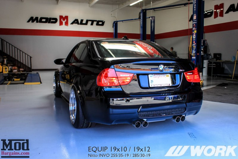 BMW_E90_M3_Work_Equip_19x10_19x12_Nitto_Invo_BC_Coilovers_MeganExhaust (15)