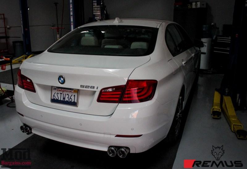 BMW_F10_528i_Remus_Quad_Exhaust_NonM_Lip_white-15