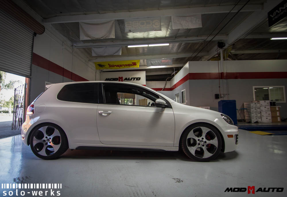 Installed: Solo-Werks Coilovers for VW Golf GTI [Mk VI]