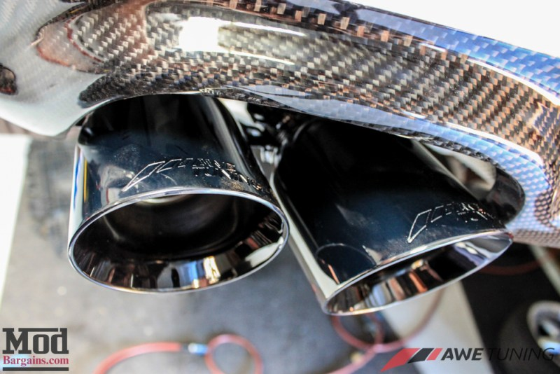 Audi_B8_A5_20T_AWE_Quad_Exhaust_Black_Tips_CF_Diffuser-16