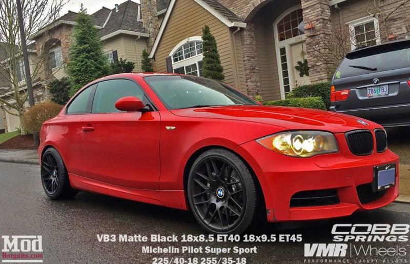 BMW-E82-135i-VMR-VB3-V703_18x85et40_18x95et45matteblack_cobbsprings_red-antonio-z-img003