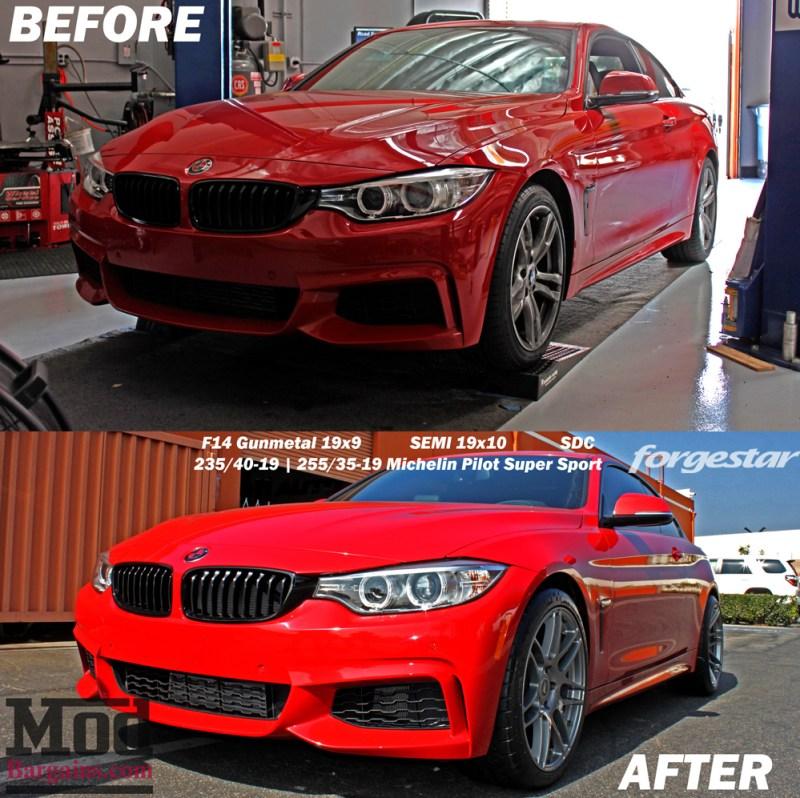 BMW_F32_428i_Red_Remus_Quad_Forgestar_F14_19x9et12_19x10et-19_GM_jurrian-cust-beforeafter1