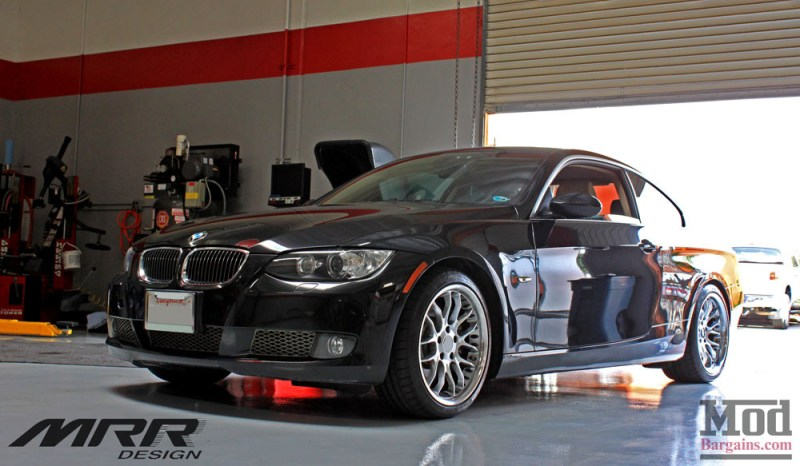 E92 Jeff MRR GT7 Wheels 18x8.5 18x9.5 225-40-18 255-35-18 CKS Coilovers (4)