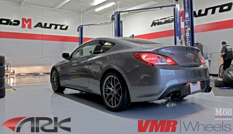 Hyundai Genesis Coupe 2.0T VMR V710 ARK Exhaust (2)