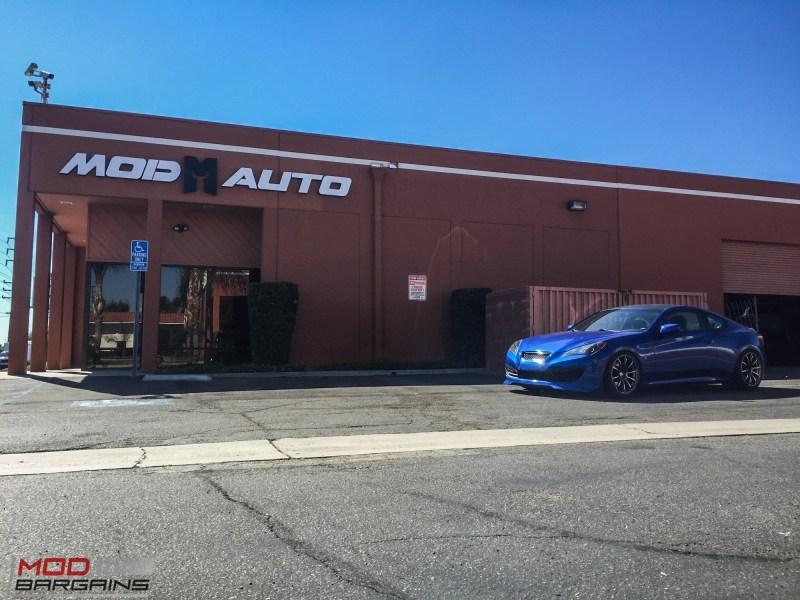Hyundai Genesis Coupe Blue Advan RS (4)