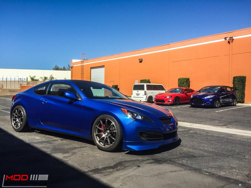 Hyundai Genesis Coupe Blue Advan RS (7)