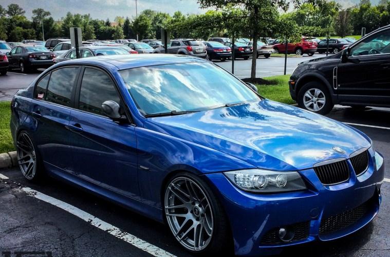 Hyundai Genesis Coupe 2018 >> Blue E90 BMW 335i Shines on Super Deep Forgestar F14s