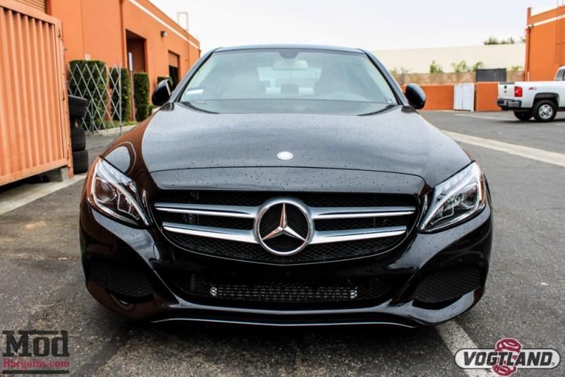 Mercedes_C300_4Matic_Rohana_Wheels_Vogtland_Springs-6