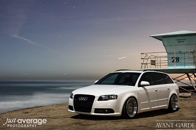 """Audi B7 A4 Avant - 18x8"""" / 18x9"""" Machine Silver M220"""