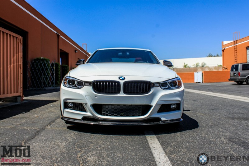 BMW_F30_335i_White_Beyern_Wheels_CF_Lip_Spoiler-5