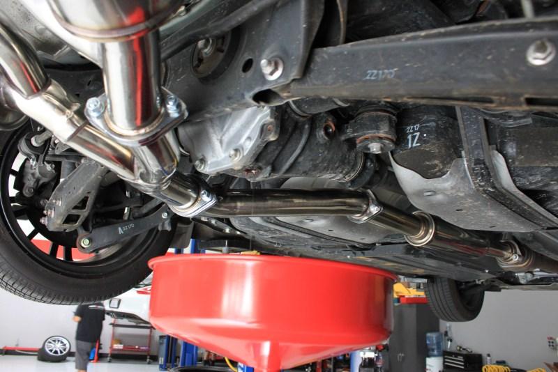 Scion FR-S Subaru BRZ Transmission Diff Oil Change MOTUL_IMG_0925