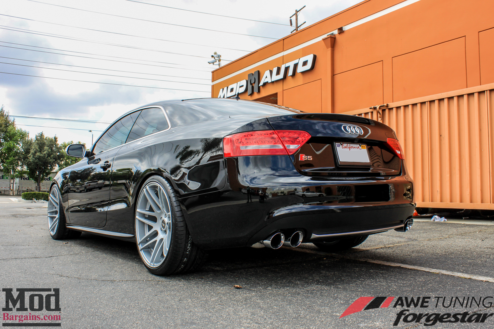 Audi S5 Gets Exhaust by AWE Tuning & SDC Forgestar F14s